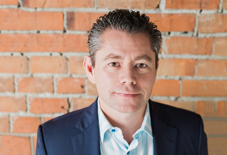 Jordan Giustini, President of Wolf Custom Homes Calgary