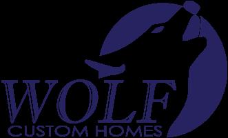 wolf custom homes logo